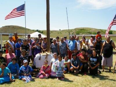 2021 Wakinyan Maza Wokiksuye (Iron Lightning Memorial) celebrates family, veterans, and the return of a piece of history
